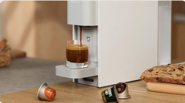 米家胶囊咖啡机开启众筹:349元 1分钟即享