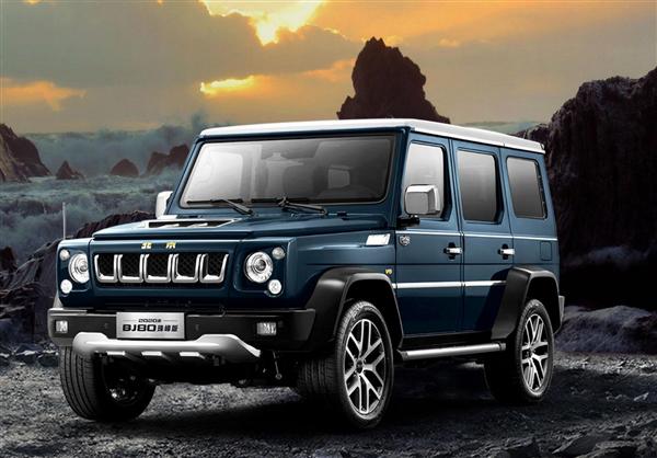 方盒子酷似奔驰G!新款北京BJ80售29.8万起:新增3.0T V6