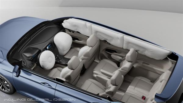 车身钢材让中保研侧目!五菱凯捷安全配置曝光:车内三排都有气囊