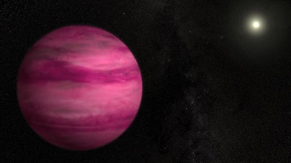 57光年外宇宙中的樱花!NASA揭秘发现粉红色行星身世
